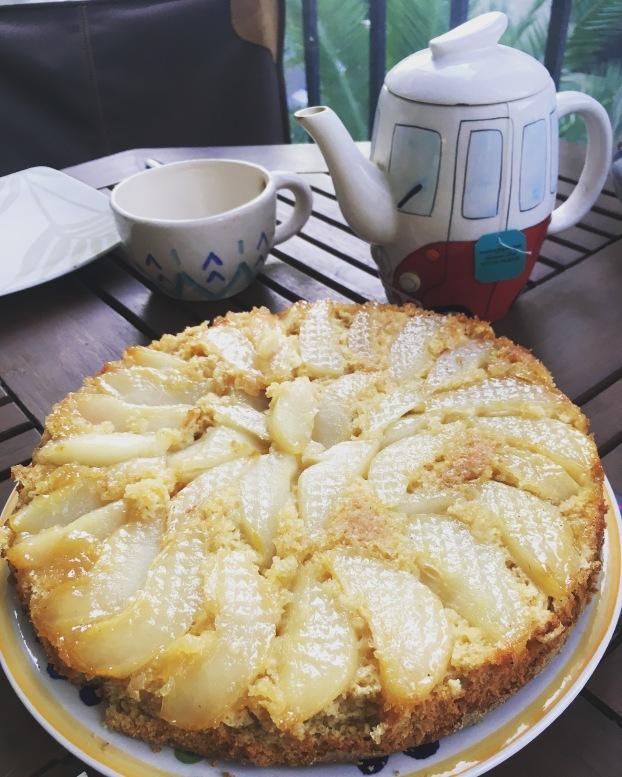 torta de pera